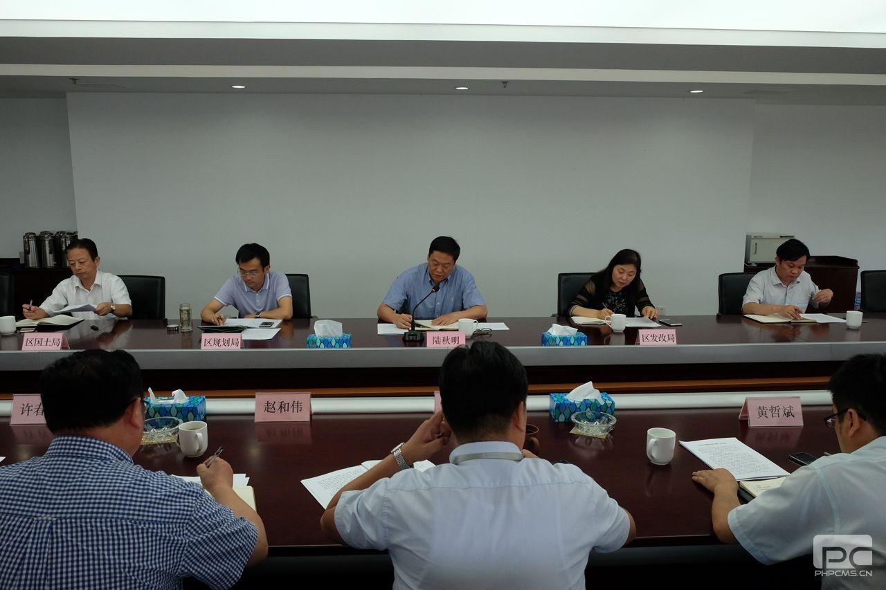 武进区委常委、副区长陆秋明携相关部门 强势推进常州石墨烯小镇
